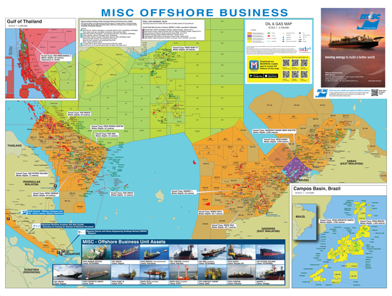 MY MISC Offshore Business Map 2017