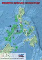 Philippines Oil & Gas Map