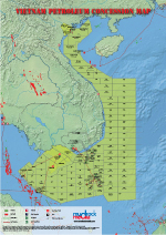 Vietnam Oil & Gas Map