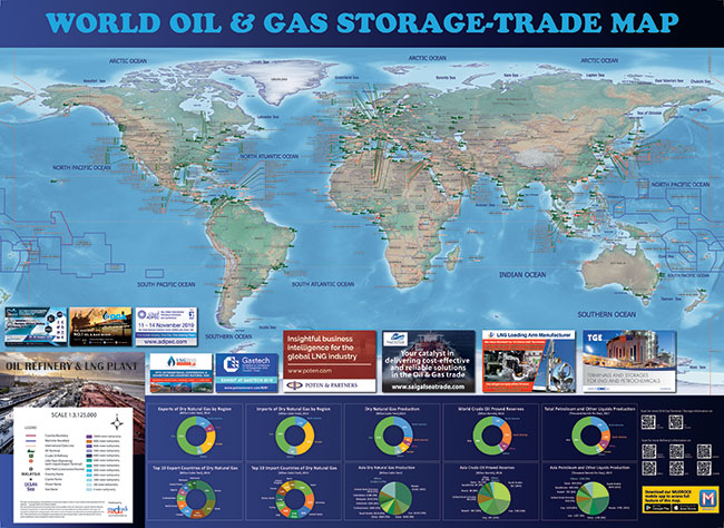 World Storage Trade 2019 FREE Refinery LNG Plant