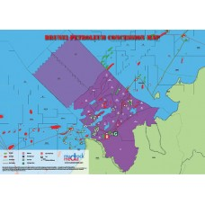Brunei Oil and Gas Map - A4 Size