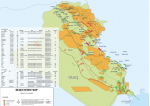 Iraq Power Plant Map - A4 Size