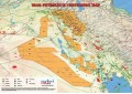 Iraq Oil and Gas Map - A4 Size