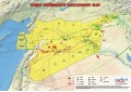 Syria Oil and Gas Map - A4 Size