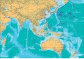 Asia Pacific Map - A0 Size